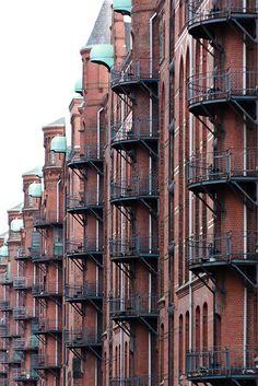 Speicherstadt, Hamburg (Germany)