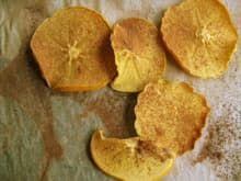 Snack Recipe: Persimmon Fruit Leather