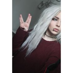 alexandra catherine axelina ❤ liked on Polyvore featuring people, alex, fable and hair