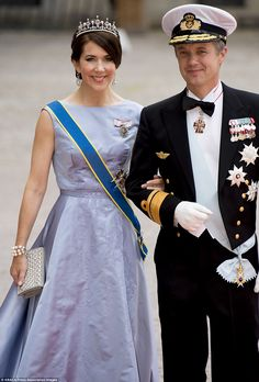 But if there is only one dress to remember in the last month, it was Princess Mary's elega...
