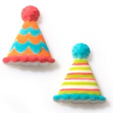 Sugar hats, cute cookies if you do a circus theme