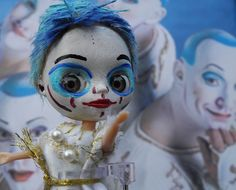 Cirque du Soleil,  La Noubia La con  more of her at the board Blythe/Mary Mas M/custom/diy/creations