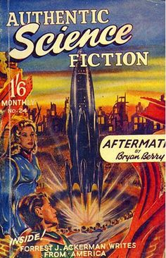 Authentic Science Fiction #24   (Aug 1952)