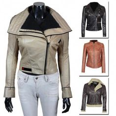 0a843020d Brown-#Shearling-Leather-Genuine-#Lambskin-Chocolate-Brown-Leather-#Women-Jacket  | For Christmas Gifts and Winters colection #leatherjacketsformenbrown