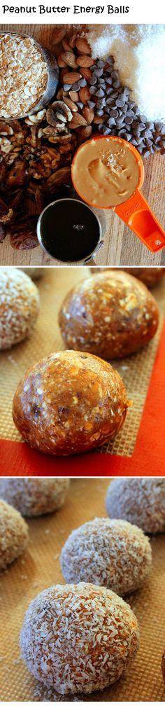 Peanut Butter Energy Balls yummmm