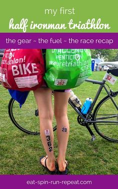A recap of my first 70.3 distance triathlon experience - the gear, the fuel, and the mental state that got me to the finish line.