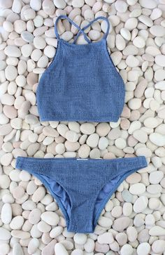 Made by Dawn - Coral | Jean Blue Bikini