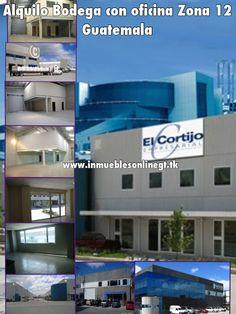Alquilo Bodegas con oficina Zona 12 Guatemala  disponibles desde 220 metros2 de bodega todas con oficinas y parqueo , dentro de condominio exclusivo zona 12 visitas anaurrutia@live.com www.inmueblesonlinegt.tk en Facebook Bienes Inmuebles GT
