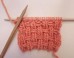 Comment tricoter en point élastique spécial