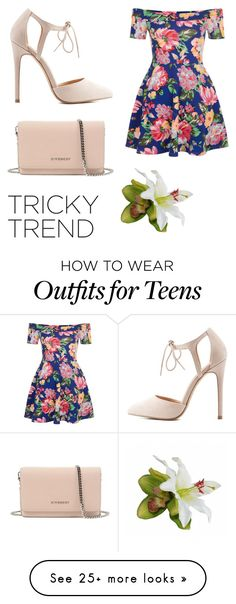 """Sin título #260"" by fatimamg on Polyvore featuring New Look, Charlotte Russe, Givenchy, TrickyTrend and culottes"
