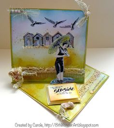 Twisted Easel Card, stamp by Crafty http://8thWonderArtblogspot.com