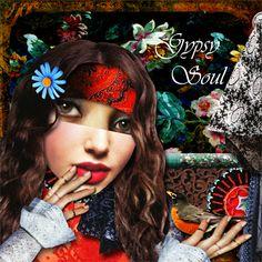 Art by Nancy Baumiller using Crowabout StudioB - Gypsy Soul Digital Kit