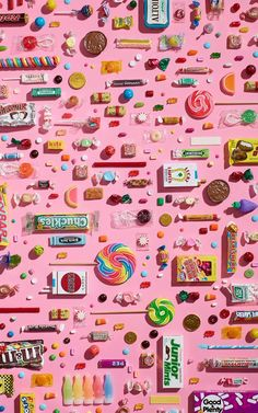 Candy maniac Food Wallpaper, Still Life Photography, Candy Colors, Textures Patterns, Food Art, Packaging Design, Pattern Design, Design Inspiration, Colours