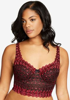 e15b75b64d Amazon.com  Rago Women s Long Line Bra  Clothing