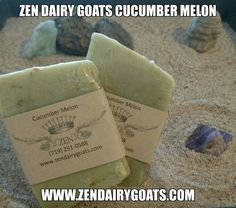 Here is a very fresh, clean scented #ZenDairyGoats soap bar made by #EricRovegno.   Pick up yours at: http://zendairygoats.com  Zen Dairy Goats in Avondale, CO