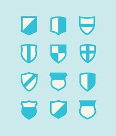 Mari sheibley - graphic  designer for Foursquare - Shield Designs