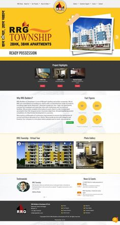 Virtual Tour, Photo Galleries, Website, Projects, Log Projects, Blue Prints