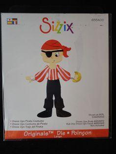 Resultado de imagen de sizzix dress ups pirate costume
