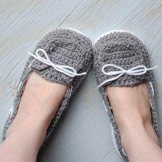 Women's Boat Shoes Crochet Pattern - I wear size 8 shoes (CB)