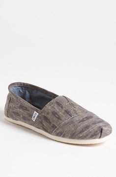 TOMS 'Classic' Linen Slip-On (Men) available at #Nordstrom