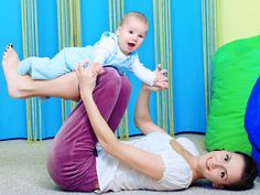fun and good for you--exercises with your baby