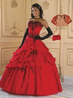 New Red and Black Ball Gown Evening Dress Prom Gowns Stock Size 6 8 10 12 14 for vrinda Evening Dresses For Weddings, Black Evening Dresses, Black Wedding Dresses, Wedding Dress Sleeves, Long Dresses, Red Ball Gowns, Ball Gowns Evening, Pakistani Bridal Dresses, Bridal Gowns