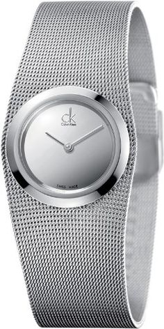 Calvin Klein CK Womens Impulsive Mesh Watch K3T23128 * Continue reading at the image link.