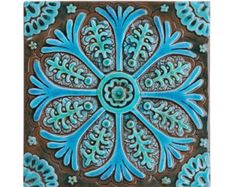 Luxury tiles for kitchens, bathrooms and outdoor wall art. Our collection of turquoise handmade tiles are handmade in Spain. Browse our Spanish tiles here. Ceramic Wall Tiles, Tile Art, Ceramic Plates, Unique Wall Art, Large Wall Art, Bad Wand, Suzani Fabric, Ceramic Tile Bathrooms, Outdoor Wall Art