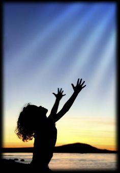 Worship God.