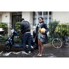 On the Street… Rue Linne, Paris The Sartorialist found on Polyvore