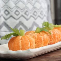 How To Make Orange Pumpkins