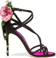 intenso dolce gabbana, Dolce & Gabbana Embellished satin sandals Black Women Shoes, dolce and gabbana flower sunglasses official authorized store Black High Heel Sandals, Strappy Sandals Heels, High Heels Stilettos, Stiletto Heels, Black Shoes, Strap Sandals, Women Sandals, Shoes Women, Shoes Heels