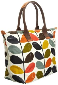 Orla Kiely Matt Laminated Nautical Multi Stem Easy Zip 13senms131 9600 00 Tote One Size Coupon Infomation