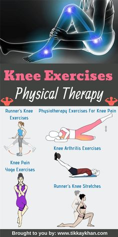Exercises Physical Therapy For Knee Pain Knee Exercises Physical Therapy for women. It's best for knee pain and knee stretches.Knee Exercises Physical Therapy for women. It's best for knee pain and knee stretches. Runners Knee Stretches, Knee Fat Exercises, Knee Arthritis Exercises, Knee Strengthening Exercises, Knee Physical Therapy Exercises, Stretches For Knees, Yoga For Knees, Exercise For Bad Knees, Exercises For Arthritic Knees