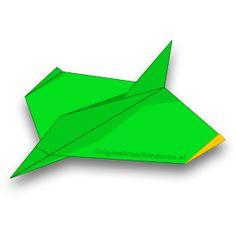 Origami Vliegtuig 5