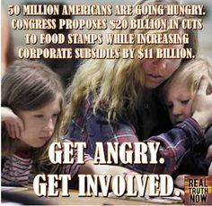 How can anyone support America paying tax subsidies or giving hand-outs to oil companies that pay ZERO taxes and NOT support  subsidizing the poor, hungry people in America.