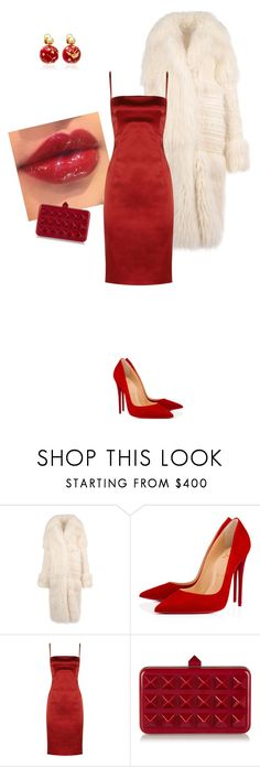 """""""Untitled #181"""" by huyennn ❤ liked on Polyvore featuring STELLA McCARTNEY, Christian Louboutin, D&G, Valentino and Silvia Furmanovich"""