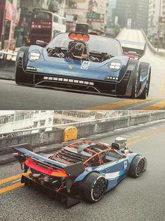 Custom Porsche, Porsche Cars, Custom Muscle Cars, Custom Cars, Exotic Sports Cars, Exotic Cars, Automobile, Street Racing Cars, Tuner Cars