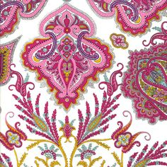 Liberty of London fabric paisley inspired