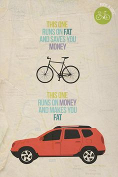 yeah, except the bike does not have storage space or AC