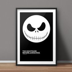 The Nightmare Before Christmas Poster Movie Poster by RvECreative