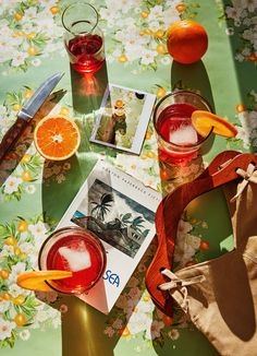 Sparkling Rosé + Campari Spritz — Better Happier - Sparkling Rosé Campari Spritz -a Better Happier St. Food Styling, Bar Cart Styling, Food Photography Styling, Photography Aesthetic, Photography Poses, Kings Of Convenience, Cafe Rico, Gig Poster, Colors