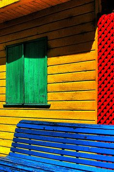 Colourful La Boca in Buenos Aires, Argentina  by Stacey Raven Photo, via Flickr