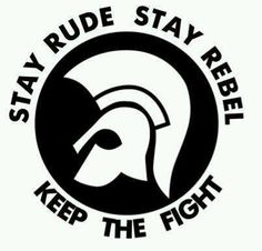 Stay rude Reggae Music, My Music, Jamaican Quotes, Skinhead Fashion, Life Logo, Rude Boy, Keep Fighting, Band Logos, Scroll Saw Patterns