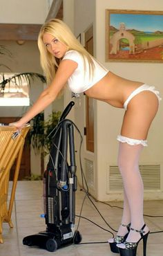 Alison Angel, Hot Blonde Maid In White Stockings Alison Angel, Ann Angel, Domestic Goddess, Sexy Stockings, In Pantyhose, Sexy Hot Girls, Sensual, Sexy Legs, Maid