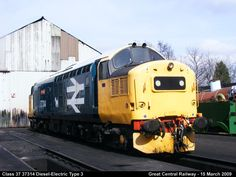 Class 37 37314 Diesel-Electric by graham.wood.14661
