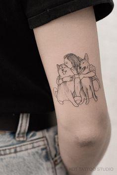 Bull Tattoos, Irish Tattoos, Animal Tattoos, Body Art Tattoos, Tattoos For Dog Lovers, Tiny Tattoos For Girls, Tattoos For Women, Dream Tattoos, Mini Tattoos