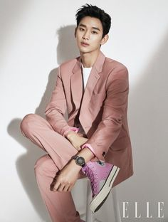 Netizen Buzz: Kim Soo Hyun shows off his handsome face in new watch pictorial Korean Male Actors, Asian Actors, Korean Celebrities, Korean Men, Celebs, Handsome Faces, Handsome Boys, How To Look Handsome, Asian Boys