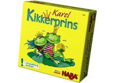 origineel memospel 'karel kikkerprins' Haba   kinderen-shop Kleine Zebra