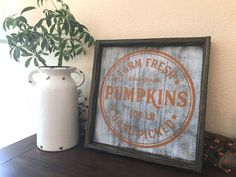 Farm Fresh Pumpkin Patch Fall Wood Sign – RedRoanSigns  Farmhouse fall decor, Fall Farmhouse decor, Fall decorations, Fall ideas, Fall decor ideas and inspiration, rustic fall ideas, ideas dfor fall , decor ideas for fall, fall decor diy, fall decor ideas, rustic fall decor, modern fall decor, farmhouse fall decor, fall decor dollar tree, fall decor outdoor, fall decor front porch, fall decor bedroom, fall decor living room, fall decor crafts, cozy fall decor, vintage fall decor,